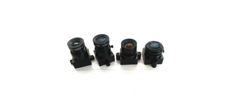 "M12 Camera Lens Module for Ø7mm(≤1/2.3""), 2µm(~2MP,3MP) Sensor"